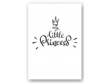 "Wandbild ""my little princess"""